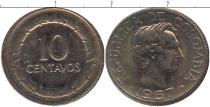 Каталог монет - монета  Колумбия 10 сентаво