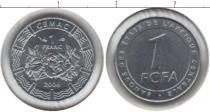 Каталог монет - монета  КФА 1 франк