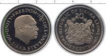 Каталог монет - монета  Сьерра-Леоне 20 центов