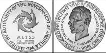 Каталог монет - монета  Ангилья 25 долларов