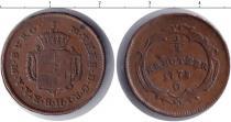 Каталог монет - монета  Венгрия 1/2 крейцера