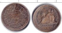 Каталог монет - монета  Гватемала 1/2 реала