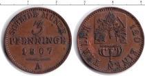 Каталог монет - монета  Пруссия 3 пфеннига