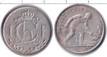 Каталог монет - монета  Люксембург 1 франков