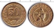 Каталог монет - монета  Парагвай 50 сентим