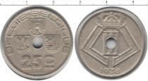 Каталог монет - монета  Бельгия 25 сантим