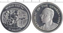 Каталог монет - монета  Гамбия 20 долларов