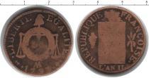 Каталог монет - монета  Франция 1/2 соля
