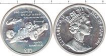 Каталог монет - монета  Остров Мэн 10 фунтов