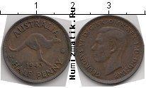 Каталог монет - монета  Австралия 1/2 пенни