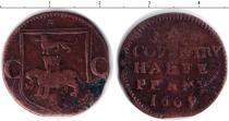 Каталог монет - монета  Шотландия 1/2 пенни