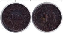 Каталог монет - монета  Цейлон 1/192 ригсдоллара