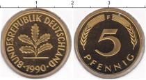 Каталог монет - монета  ФРГ 5 пфеннигов