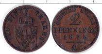 Каталог монет - монета  Пруссия 2 пфеннига