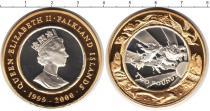 Каталог монет - монета  Фолклендские острова 2 фунта
