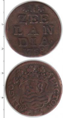 Каталог монет - монета  Зеландия 1 дьюит
