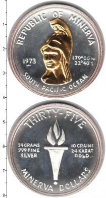 Каталог монет - монета  Минерва  1 доллар