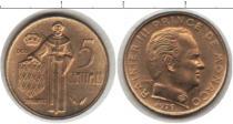 Каталог монет - монета  Монако 5 сантим