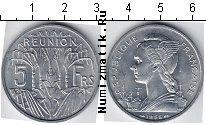 Каталог монет - монета  Реюньон 5 франков