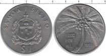 Каталог монет - монета  Самоа 1 тала