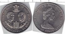 Каталог монет - монета  Гернси 25 пенсов