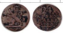 Каталог монет - монета  Гессен-Кассель 1/24 талера