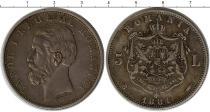Каталог монет - монета  Румыния 5 лир