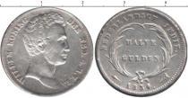 Каталог монет - монета  Нидерландская Индия 1/2 гульдена