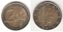 Каталог монет - монета  Люксембург 2 евро