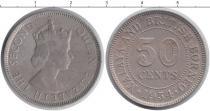 Каталог монет - монета  Борнео 50 центов
