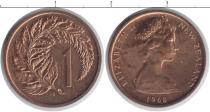 Каталог монет - монета  Новая Зеландия 1 пенни
