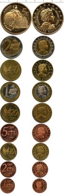 Каталог - подарочный набор  Великобритания Пробный евронабор 2002