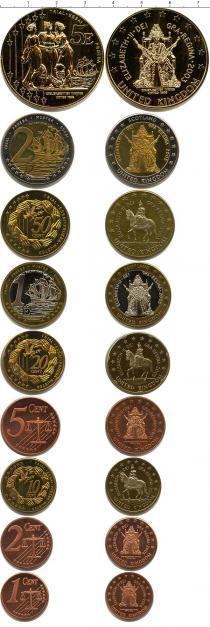 Каталог - подарочный набор  Великобритания Пробный евронабор 2003