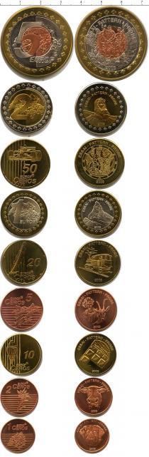 Каталог - подарочный набор  Швейцария Пробный евронабор 2003