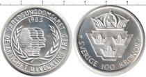Каталог монет - монета  Швеция 100 крон