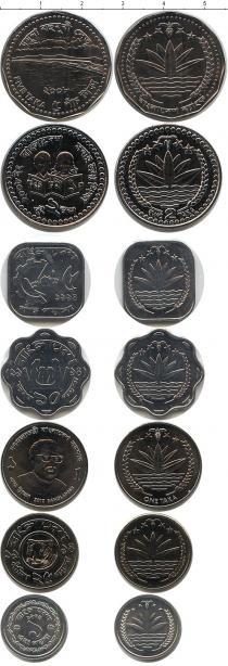 Продать Наборы монет Бангладеш Бангладеш 1974-2004 0