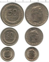 Каталог - подарочный набор  Колумбия Колумбия 1967-1969