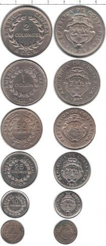 Каталог - подарочный набор  Коста-Рика Коста-Рика 1975-1980