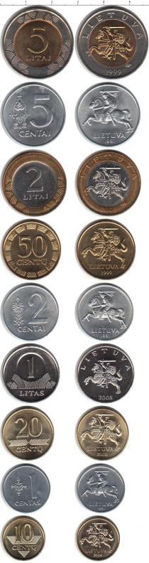 Каталог - подарочный набор  Литва Литва 1991-2010