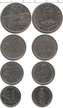 Каталог - подарочный набор  Парагвай Парагвай 1980-1988