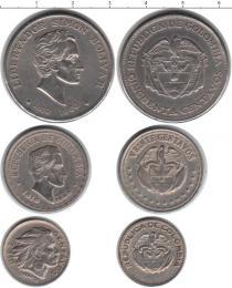 Каталог - подарочный набор  Колумбия набор монет