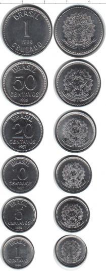 Каталог - подарочный набор  Бразилия Бразилия 1986-1988
