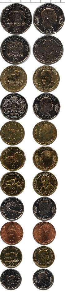 Каталог - подарочный набор  Танзания Танзания 1976-2012