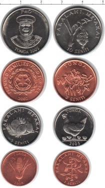 Каталог - подарочный набор  Тонга Тонга 2002-2005