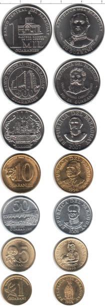 Каталог - подарочный набор  Парагвай Парагвай 1992-2008