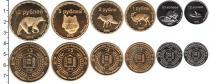 Каталог - подарочный набор  Чеченская республика набор монет 2012