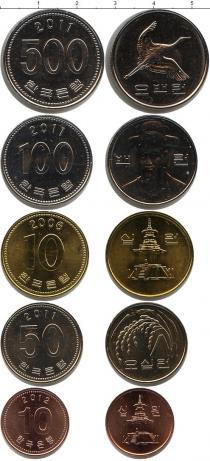 Каталог - подарочный набор  Южная Корея Южная Корея 2006-2012