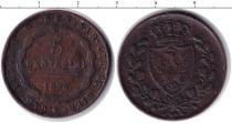 Каталог монет - монета  Сардиния 5 сентесим