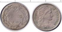 Каталог монет - монета  Колумбия 2 песо