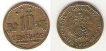 Каталог монет - монета  Перу 10 сентим